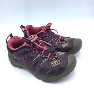 Keen Girls Hiking Purple Pink Sneakers Outdoor 11